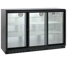 Барний холодильна шафа HURAKAN HKN-GXDB315-SL