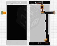 Дисплей + touchscreen (сенсор) для Fly IQ453 Quad Luminor, оригинал (белый)