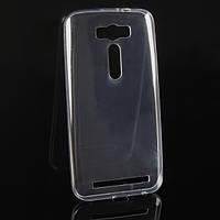Ультратонкий 0,3 мм чехол для Asus Zenfone 2 Laser ZE500KL прозрачный, фото 1