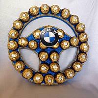 """Руль из конфет""""BMW"""""""