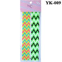 Наклейки для Ногтей Стикеры Самоклеющие Цветные YK-009, Материалы для Дизайна Ногтей