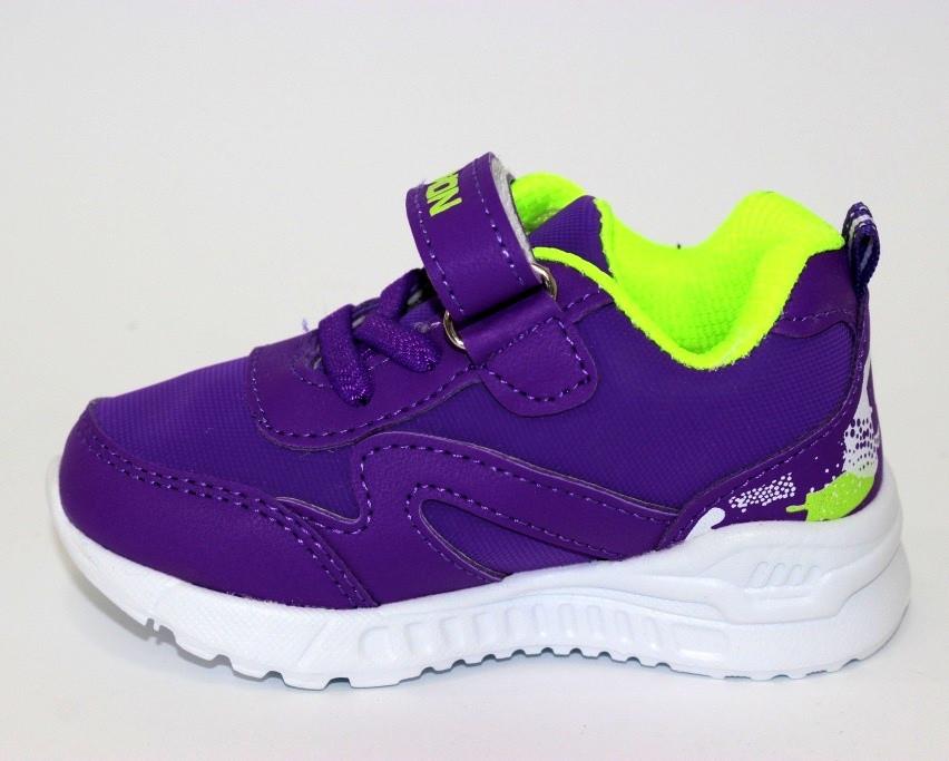 Кроссовки для детей-девочке, фиолетовые