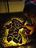 Деревянная карта Украины с LED подсветкой  50 * 75 см из дубовой ламели, фото 8
