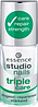 Essence утроенный уход за ногтями studio triole care