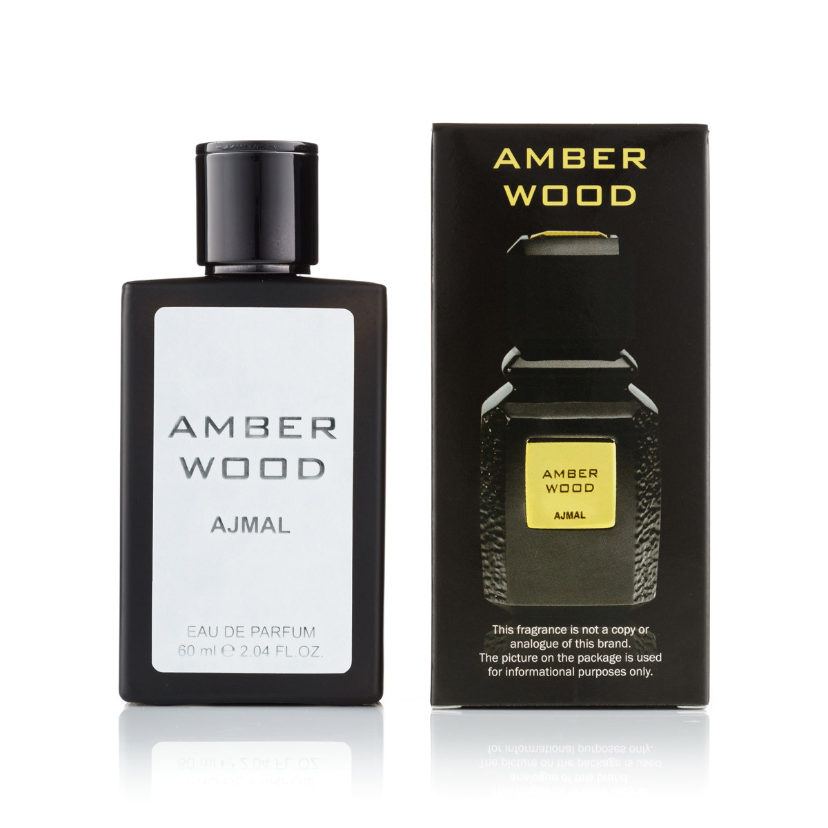 60 мл мини-парфюм Amber Wood Ajmal (унисекс)