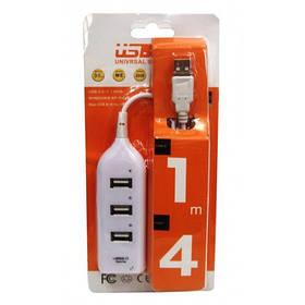 USB 2.0 хаб hub 4 порта разветвитель удлинитель