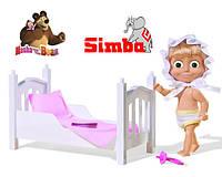 Оригинал. Кукла Маша с Кроваткой Simba 9301821