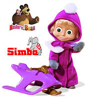 Оригинал. Кукла Маша на Снегоходе Simba 9301681
