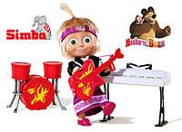 Оригинал. Кукла Маша с музыкальными инструментами Simba 9301682