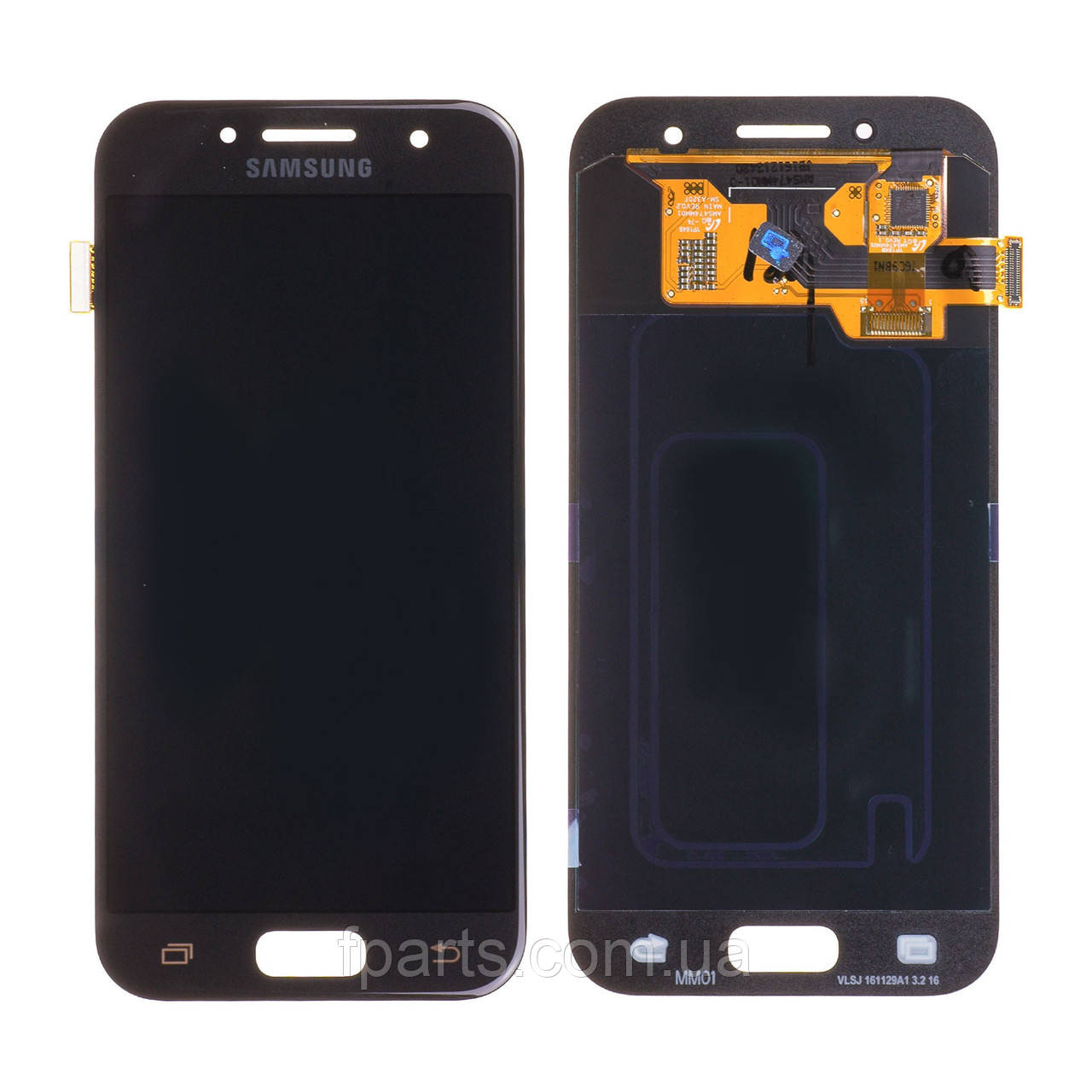 Дисплей Samsung A320 Galaxy A3 2017 с тачскрином, Black (Original PRC)