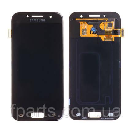 Дисплей для Samsung A320 Galaxy A3 2017 с тачскрином, Black (Original PRC), фото 2