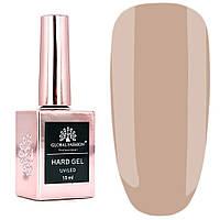 Гель для наращивания и укрепления ногтей Global Fashion Hard Gel № 8