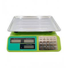 Весы торговые электронные с металлической платформой до 55 кг Rainberg RB-303