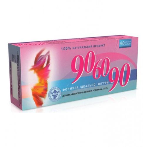 БАД 90-60-90 для безопасного похудения Элитфарм таблетки 40