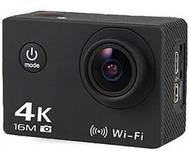 Екшн камера AT 30R SENSOR 4к wi-fi чорна