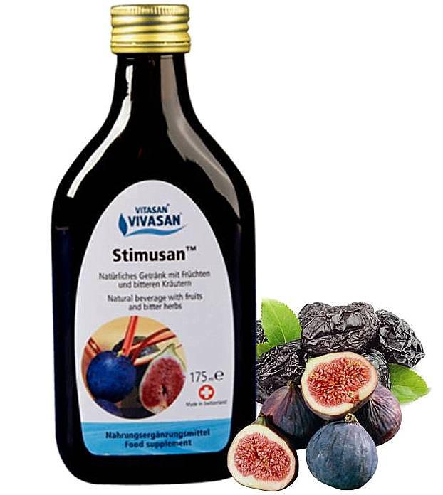 Напиток Стимусан, натуральный, Швейцария нормализация ЖКТ, 175 мл