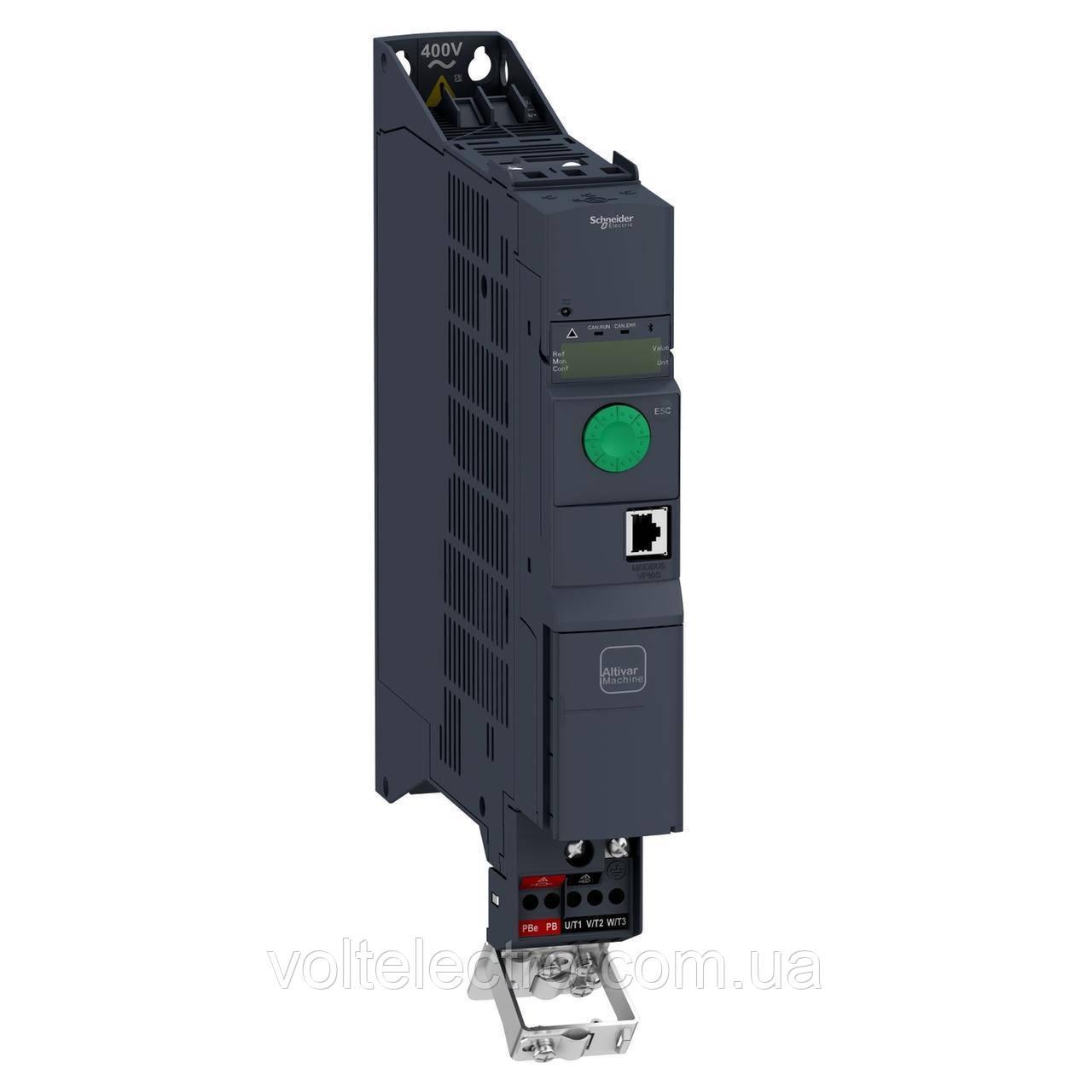 ATV320U06N4B Преобразователь частоты  Altivar 320 0.55 кВт 380В  3-ф. книжное исполнение