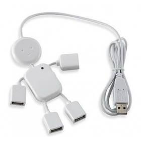 """Разветвитель USB (Hub) """"Человечек"""", 4 порта USB 2.0"""