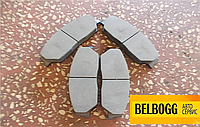 Колодки тормозные передние Geely Emgrand EX7 X7, Джили Эмгранд Х7, Джилі Емгранд Х7