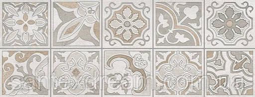 Декор Интеркерама Dolorian 23x60 серый светлый (Д 113 071-1)