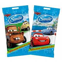 Влажные салфетки ТМ Smile Disney Тачки 15 шт.