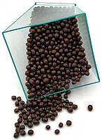 Кондитерська посипання глазурований ПОВІТРЯНИЙ РИС 3 мм Чорний шоколад 1 кг, фото 1