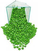 Посыпка зеленые перламутровые звездочки 1 кг