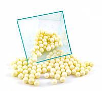 Посыпка шарики молочный жемчуг 7 мм, 1 кг