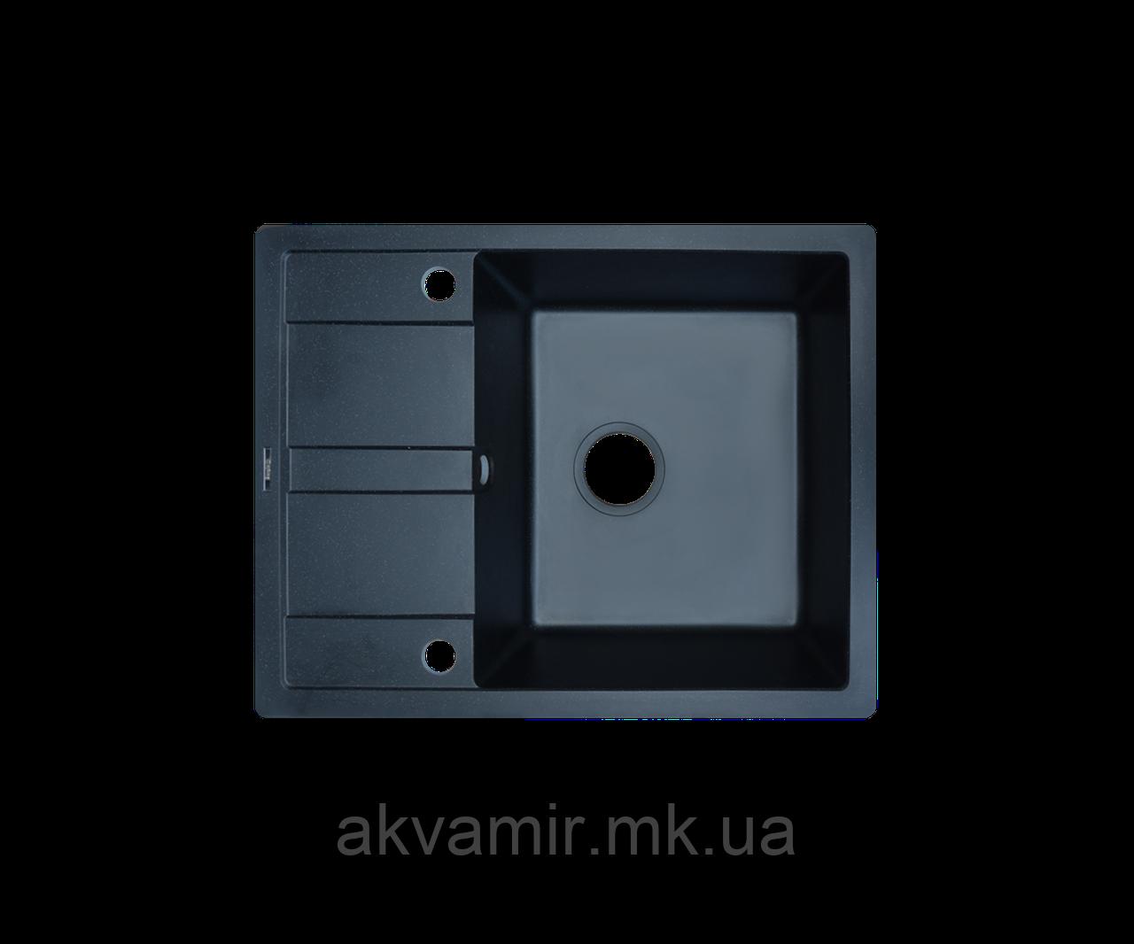 Кухонная мойка Borgio (гранит) PRC-620x435 (черный)