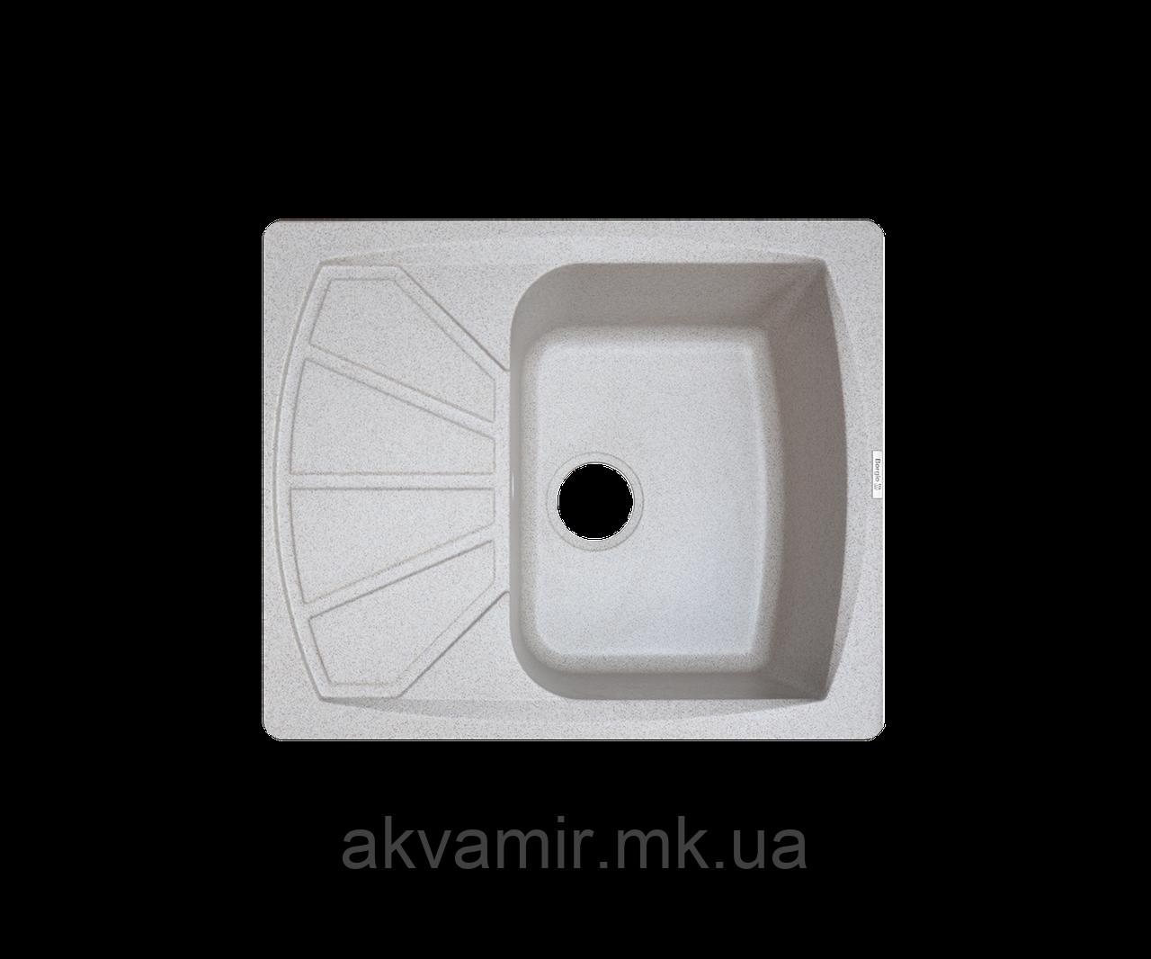 Кухонна мийка Borgio (гранит) PRT-PRT 610*500 (миндаль)