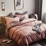 Постельное белье (простынь на резинке)   Двуспальный комплект постельного белья   Постільна білизна, фото 2