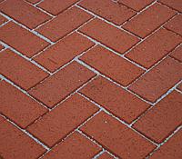 Клинкерная брусчатка БрукКерам Классика Рубин, фото 1