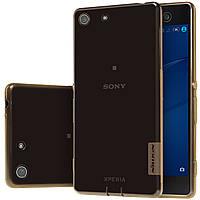TPU чехол Nillkin для Sony Xperia M5 E5633 коричневий, фото 1