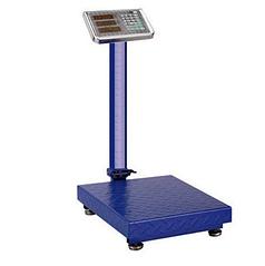 Напольные весы торговые электронные Rainberg RB-300KG синие