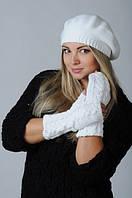 Снуды, береты и митенки - модные аксессуары  осень/зима 2016