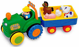 Игровой набор Трактор фермаера KiddielandPreschool g049726