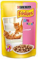 Консерва для котят Friskies ― курица в подливе