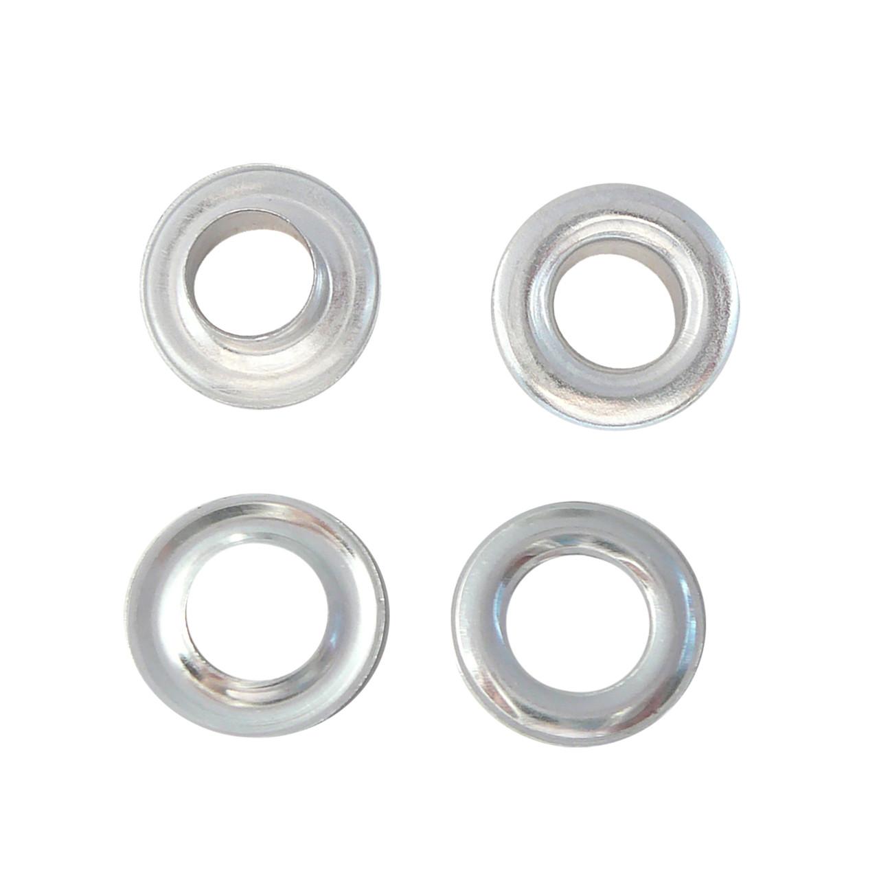 Люверсы алюминиевые 10 мм