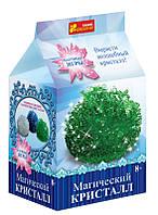 Ранок Кр. 0273 Набір досл Магічний кристал зелений