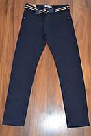 СИНІ Котонові штани для хлопчиків підлітків,ШКОЛА.Розміри 146-176 див. Фірма TAURUS.Угорщина, фото 1
