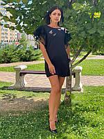 Жіноче плаття з тонкої костюмної тканини ашан Poliit 8766