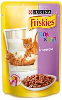 Консерва для котят Friskies - ягненок в подливе