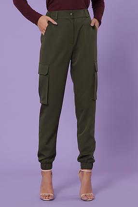 Дерзкие и неповторимые женские брюки карго Размеры  S(44), M(46), L(48), XL(50), фото 2