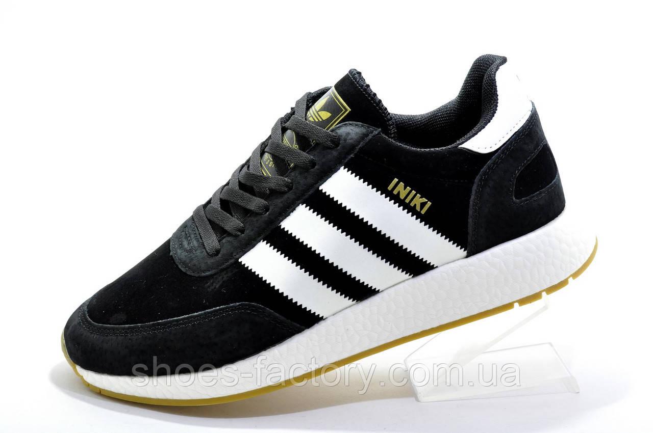 Чоловічі кросівки в стилі Adidas Originals Iniki Runner, Нубук