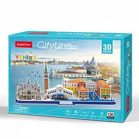 """Тривимірна головоломка-конструктор city line """"Венеція"""" (MC269h)"""