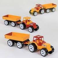 "Трактор+прицеп 007/4 (4) ""BAMSIC"""