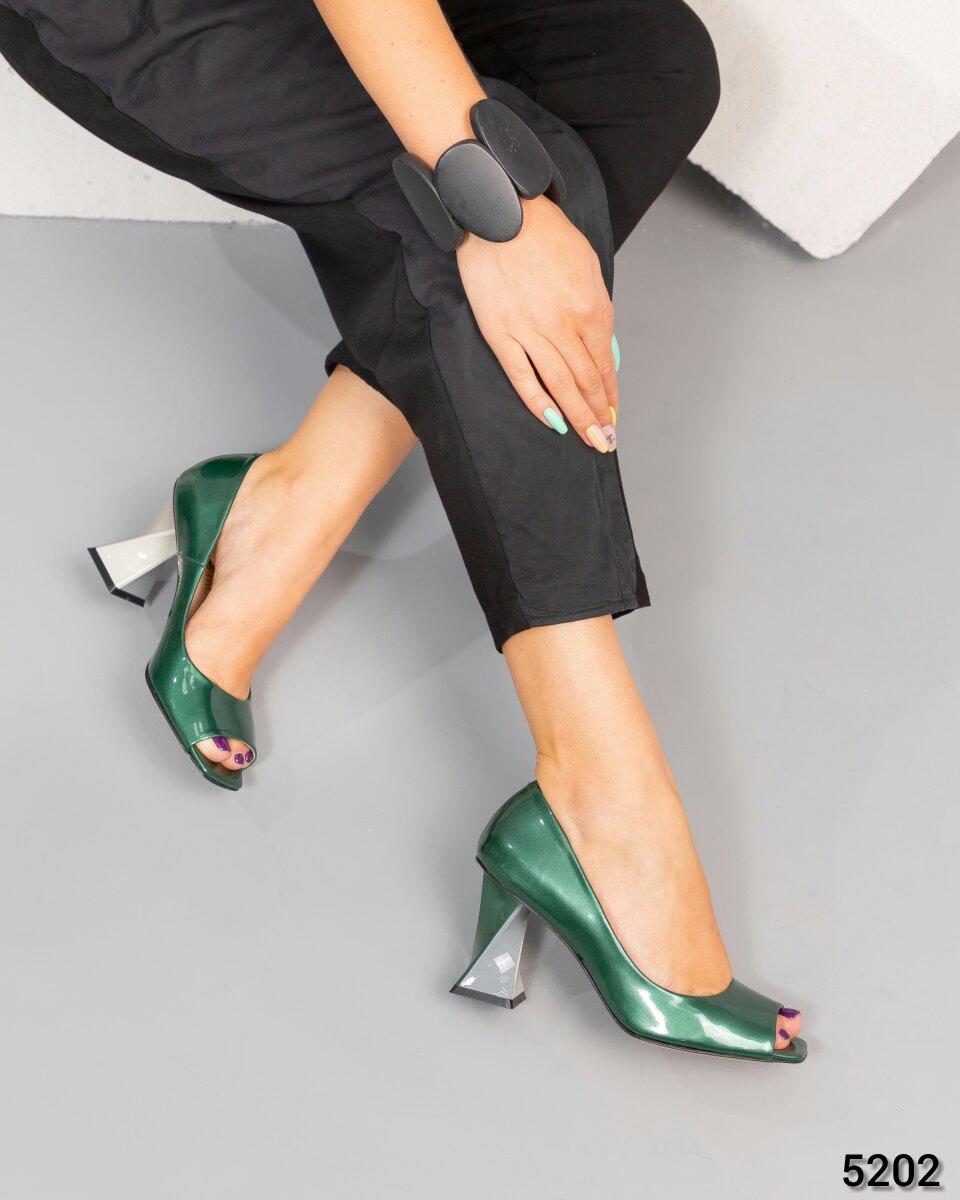 Женские Элитные туфли Exclusive с фигурным каблуком Бренд Mario Muzi. Размер 37 38