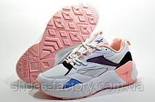 Кроссовки женские в стиле Reebok Aztrek 96, White\Pink, фото 3