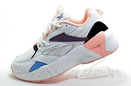 Кроссовки женские в стиле Reebok Aztrek 96, White\Pink, фото 2