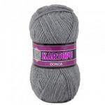Пряжа для вязания Гонка KARTOPU св. серый 1001